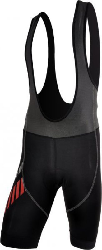 Pánske cyklistické nohavice Silvini Sangro MP348 black-red