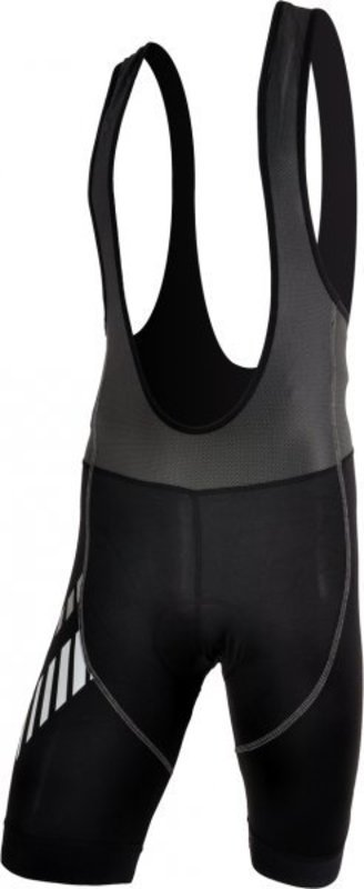 Pánske cyklistické nohavice Silvini Sangro MP348 black-white