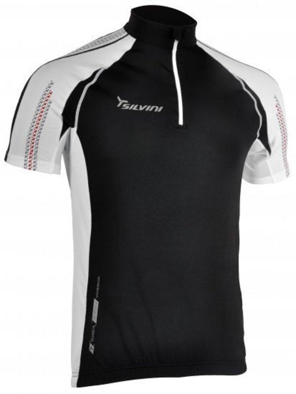 Pánsky cyklistický dres Silvini Aterno MD353 black