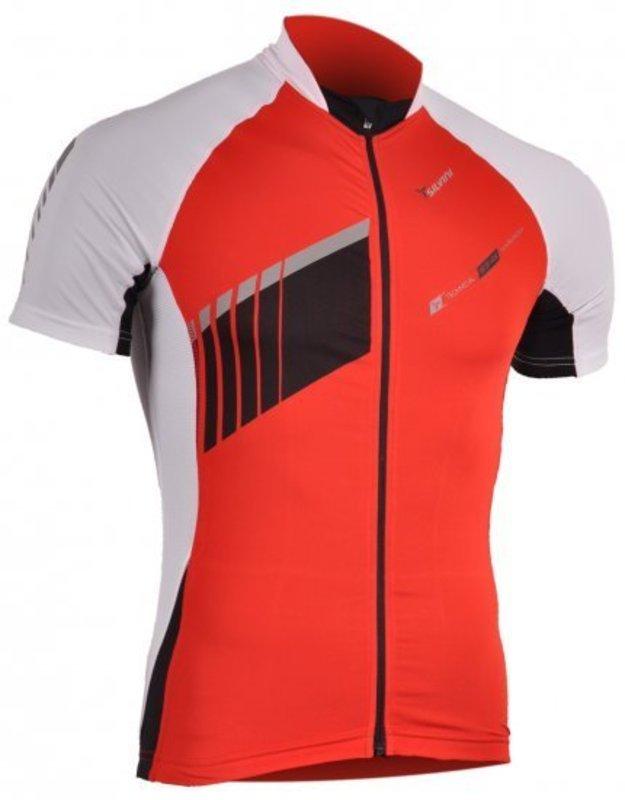 Pánsky cyklistický dres Silvini Pescara MD346 red