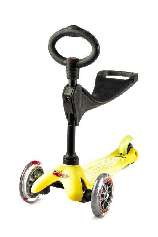 Kolobežka Mini micro Deluxe 3v1 Yellow