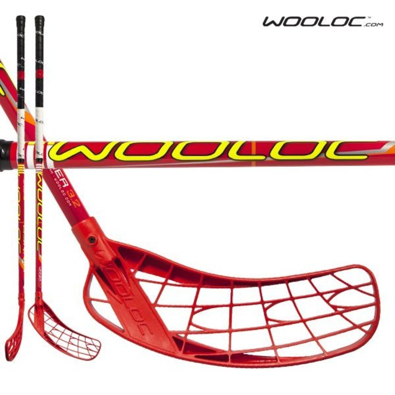 Florbalová palica Wooloc WINNER 3.2 red 96 ROUND´13