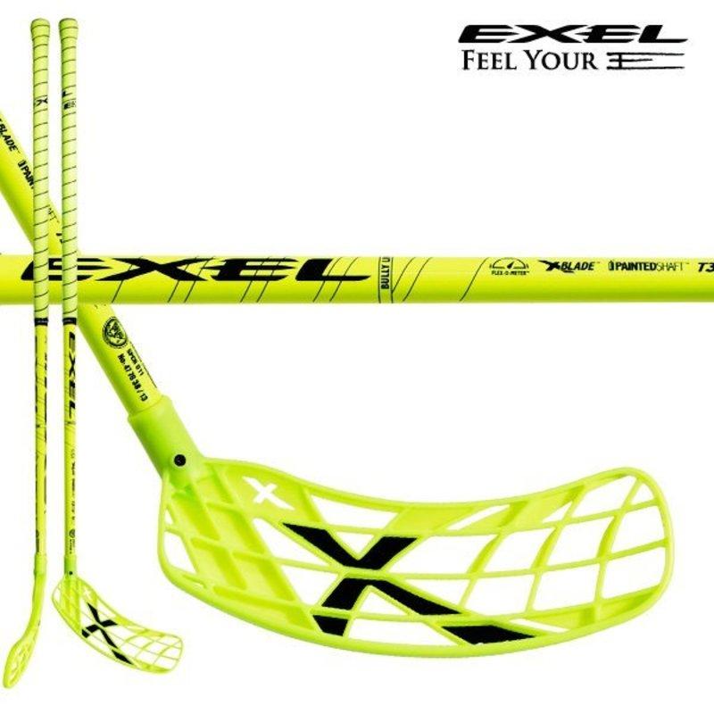 Florbalová palica Exel X-PLAY NANO 2.6 neon yellow 98 ROUND SB´13