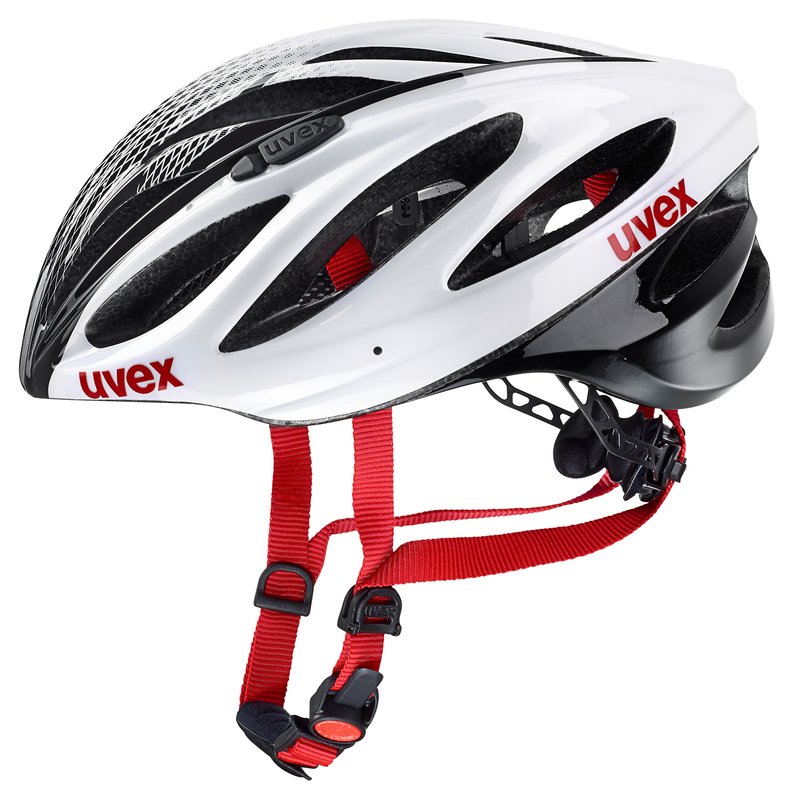 Helma Uvex Boss Race - White-Black