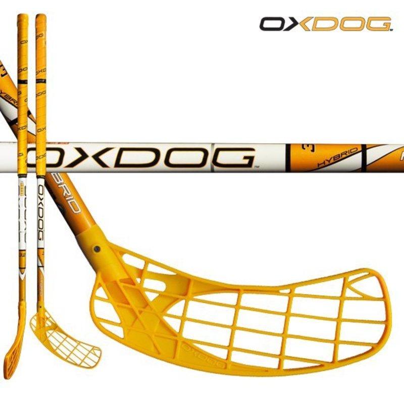 Florbalová palica Oxdog HYBRID 32 orange 96 ROUND NB´13