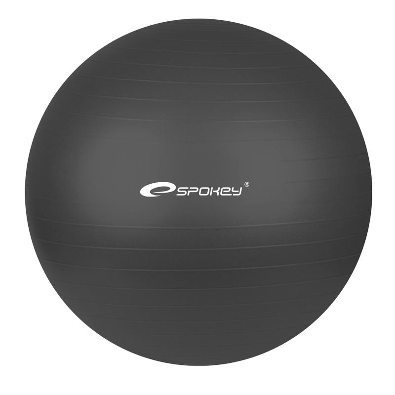 Gymnastický lopta Spokey FITBALL čierny 65 cm