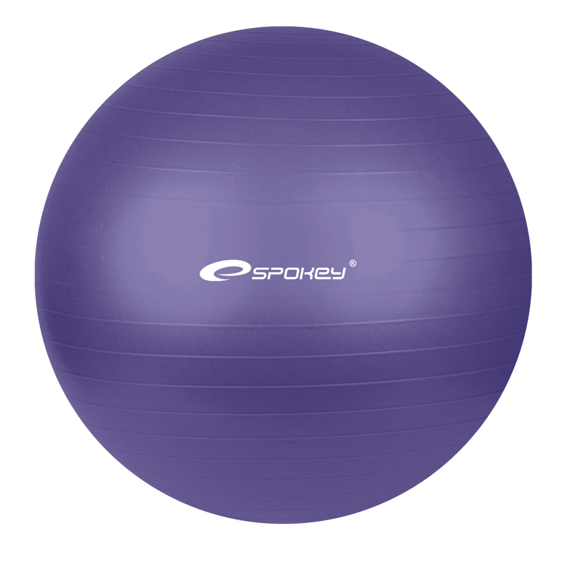 Gymnastický lopta Spokey FITBALL fialový 75 cm