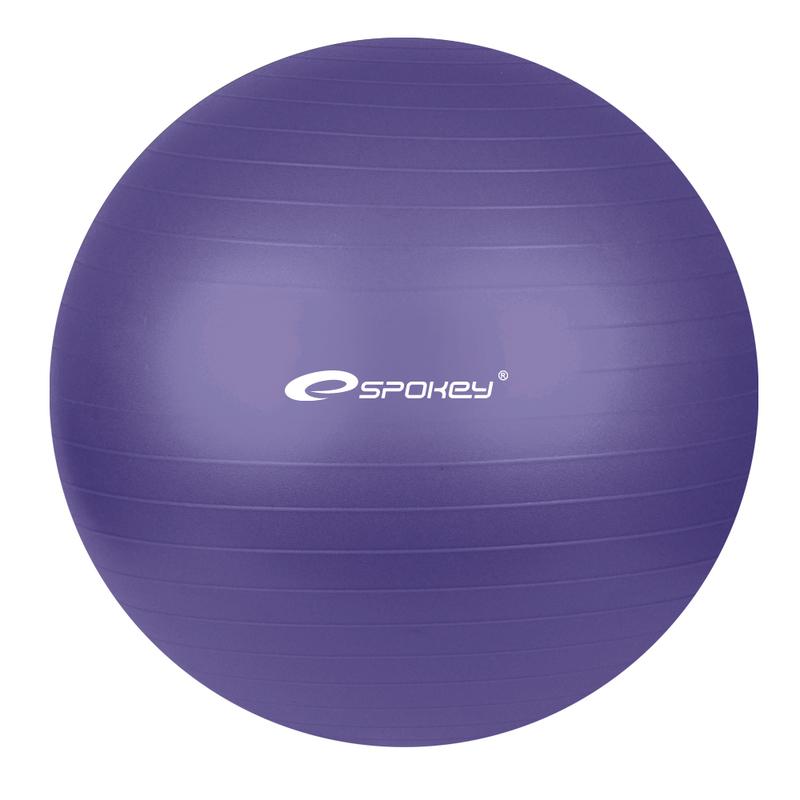 Gymnastický lopta Spokey FITBALL fialový 55 cm