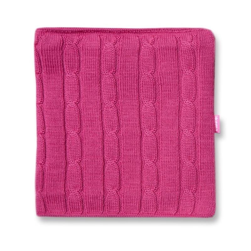 Pletený nákrčník Kama S15 114 ružová