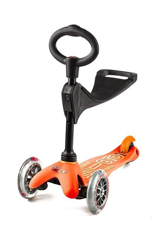 Kolobežka Mini Micro Deluxe 3v1 Orange