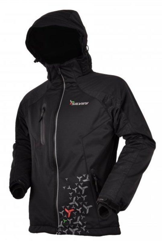 Pánska softshellová bunda Silvini Brand MJ301 black