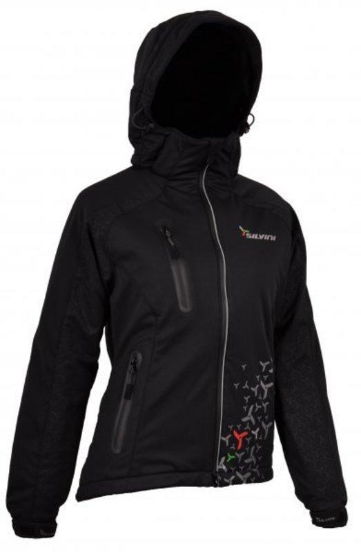 Dámska softshellová bunda Silvini Brand WJ302 black
