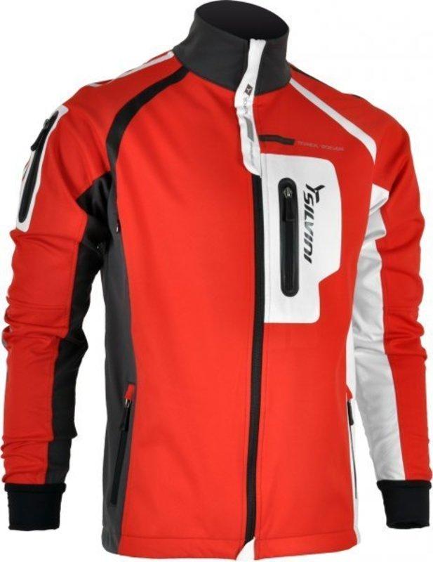 Pánska softshellová bunda Silvini Ciaupa MJ422 red