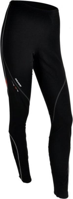 Dámske elastické nohavice Silvini Movenza WP55 black-red