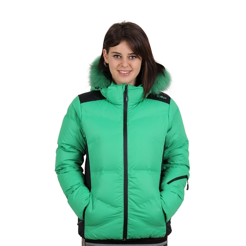 Bunda Campagnolo Woman Ski Jacket Zips Hood 3W20736-E265