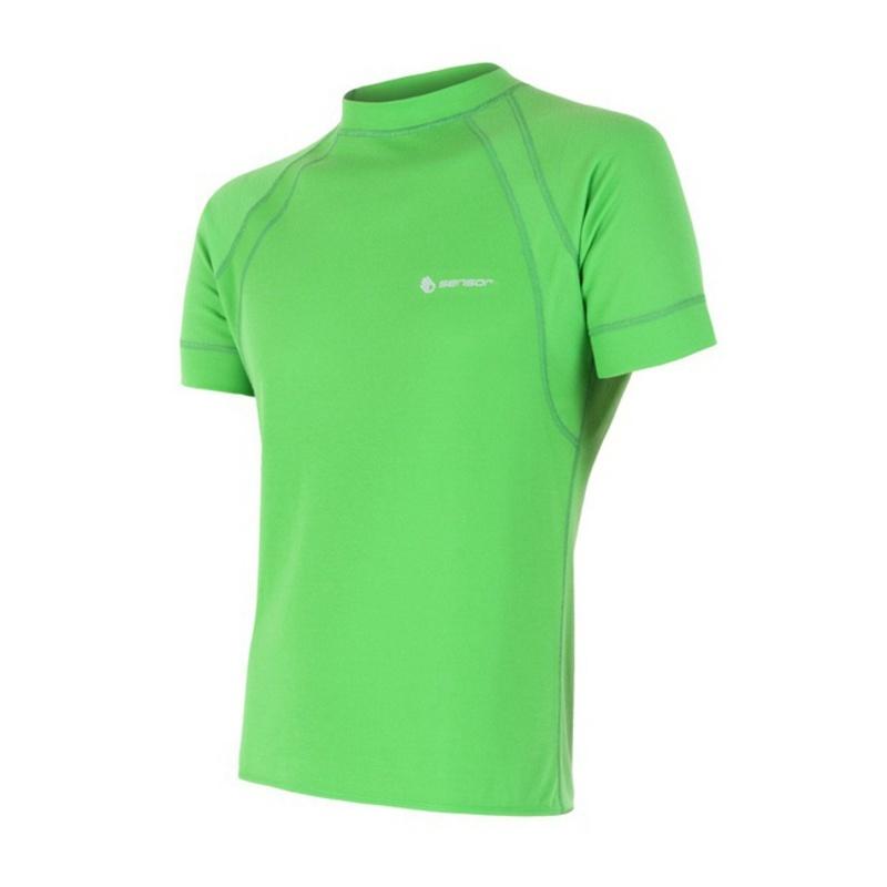Tričko Sensor Double Face zelené 13200001