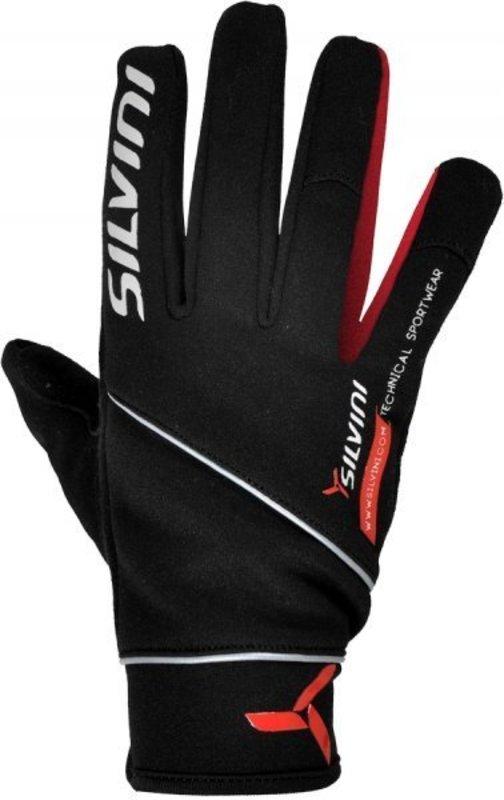 Pánske rukavice Silvini Montasio UA442M black-red