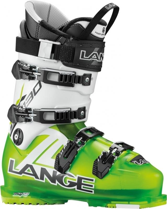 Lyžiarske topánky Lange RX 130 L.V. lime / white LBC2010