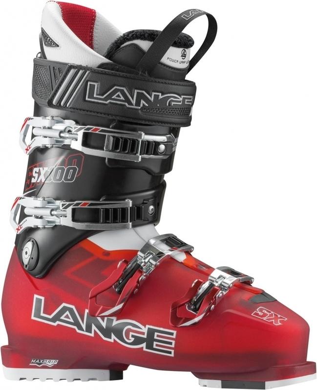Lyžiarske topánky Lange SX 100 Red / Black LBC6020