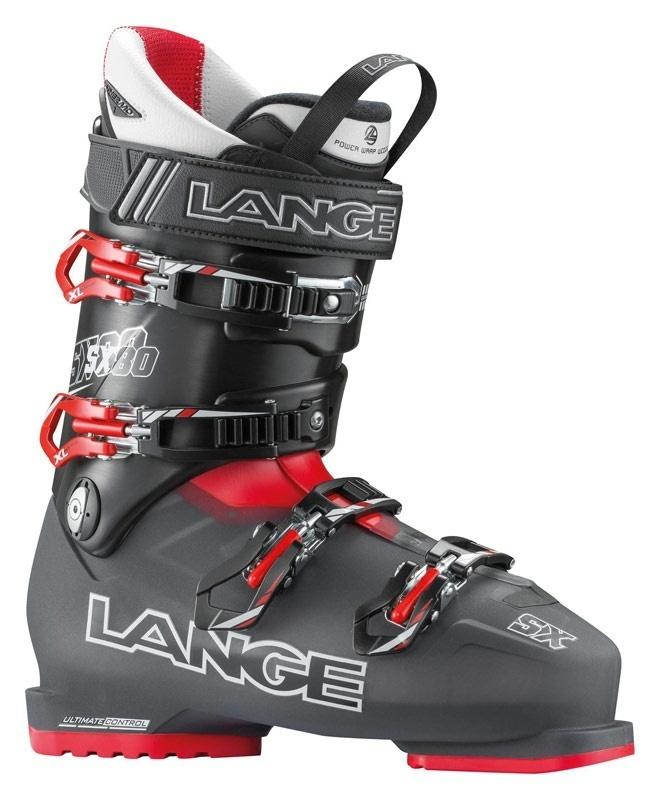 Lyžiarske topánky Lange SX 80 Black / Red LBC6040