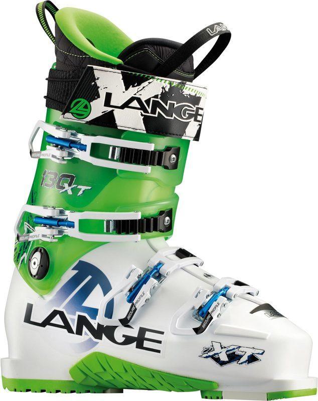 Lyžiarske topánky Lange XT 130 L.V. white / lime LB27000