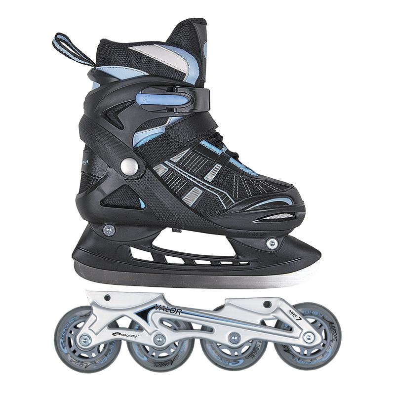 Letná i zimný korčule Spokey Valor čierne