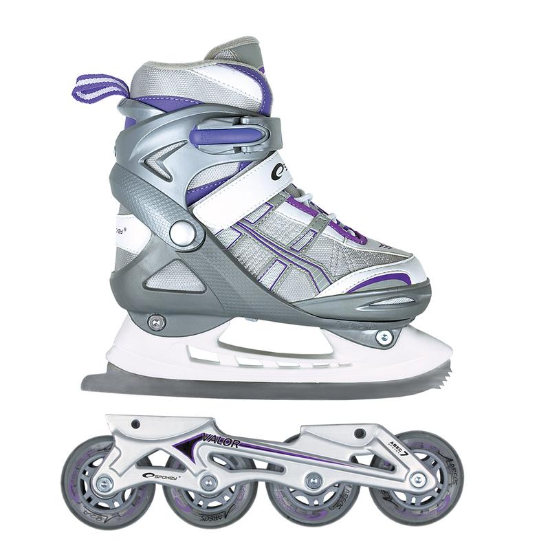 Letná i zimný korčule Spokey Valor šedé