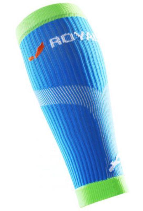 Kompresný lýtkové návleky ROYAL BAY® Neon Blue 5699