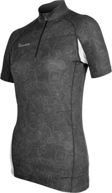 Dámske cyklistické triko Silvini Donna WD471 grey