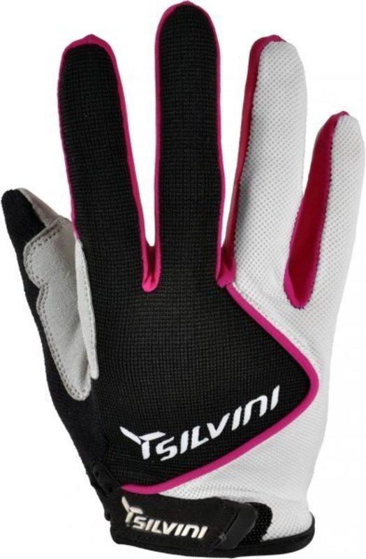 Dámske rukavice Silvini Barrata UA483W black-white
