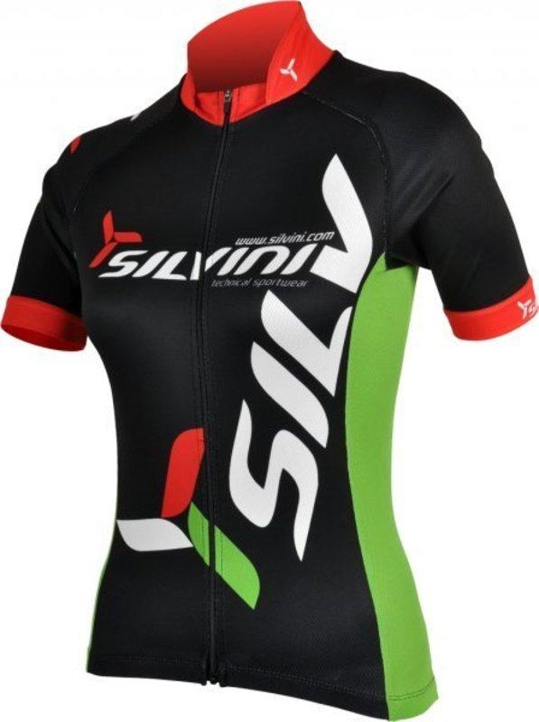 Dámsky cyklistický dres Silvini Team WD258 black
