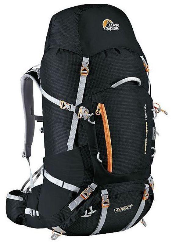 Batoh Lowe alpine Axiom+ Cerro Torre 75:95 XL black / pumpkin
