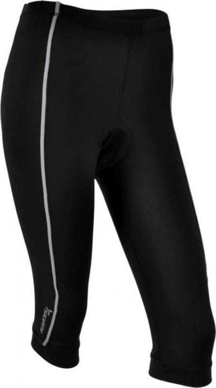 Dámske 3/4 cyklistické nohavice Silvini Avio WP464 black