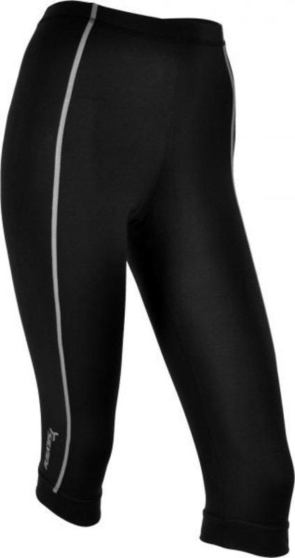 Dámske 3/4 cyklistické nohavice bez vložky Silvini Avio WP465 black