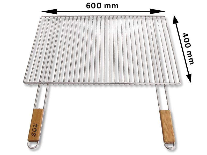Grilovaci rošt SOL krbový 5x60x40 cm