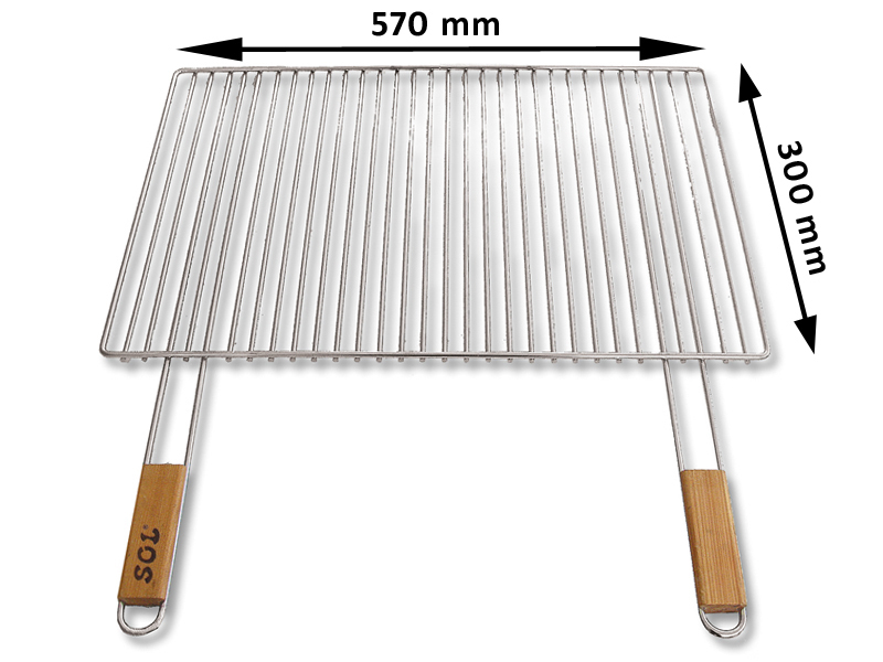 Grilovaci rošt SOL krbový 5x57x30 cm