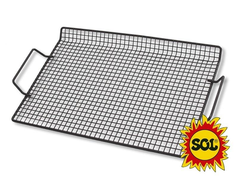 Grilovaci rošt SOL 38x26 cm chróm
