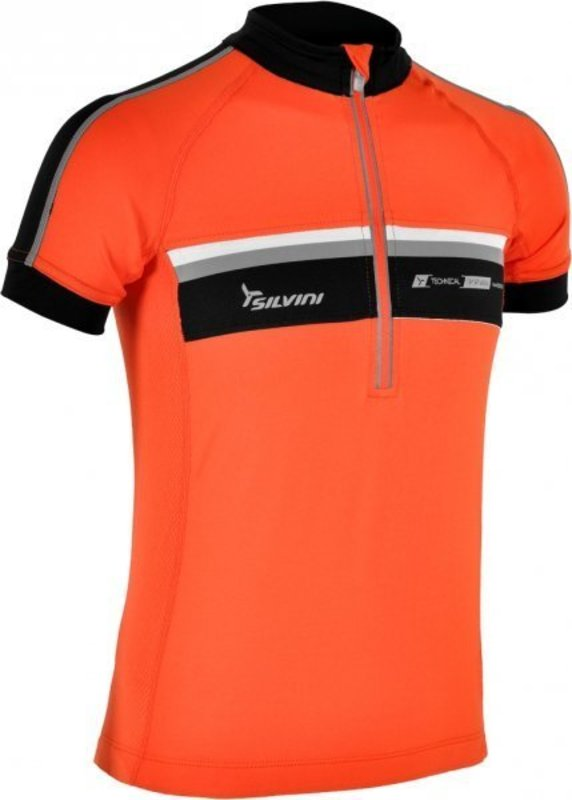 Detský cyklistický dres Silvini Velino CD484 orange