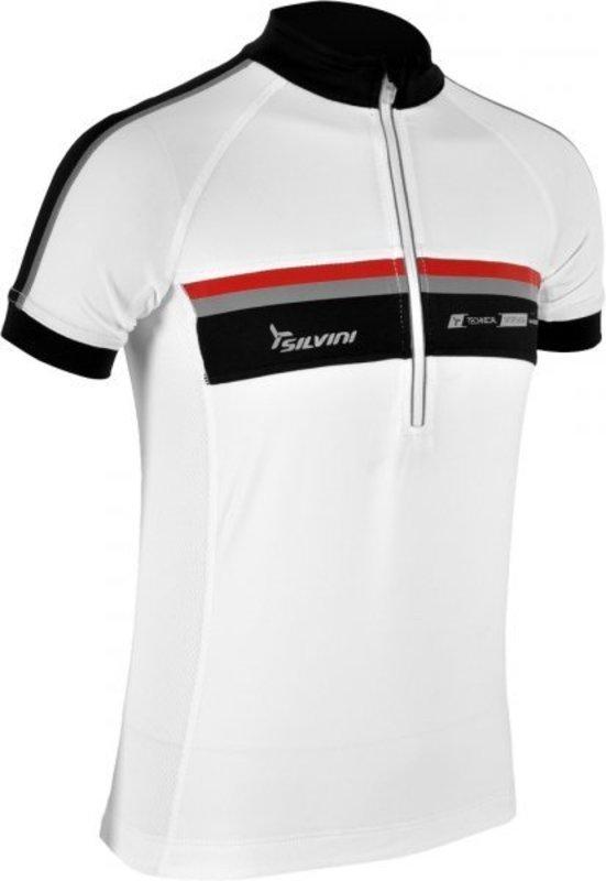 Detský cyklistický dres Silvini Velino CD484 white