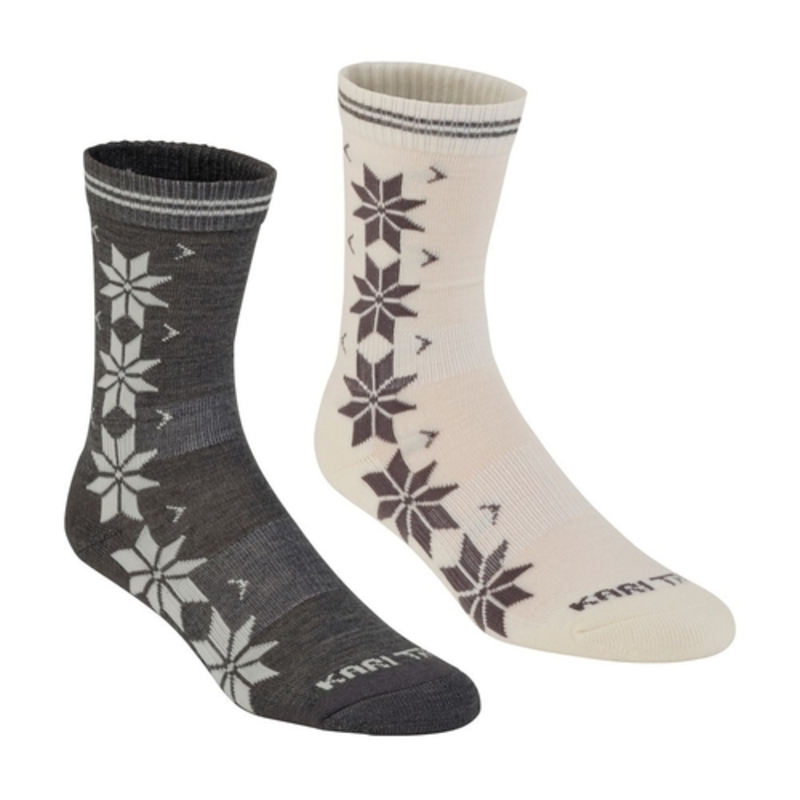 Ponožky Kari Traa VINST WOOL SOCK 2PK Dusty S