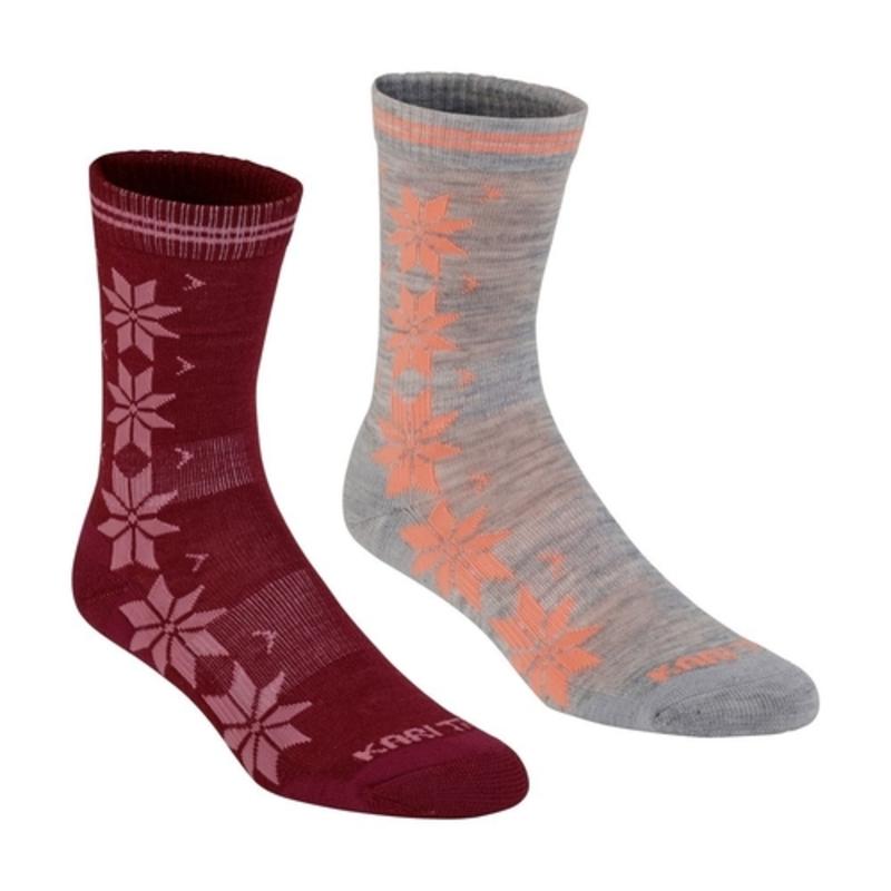 Ponožky Kari Traa VINST WOOL SOCK 2PK Port S