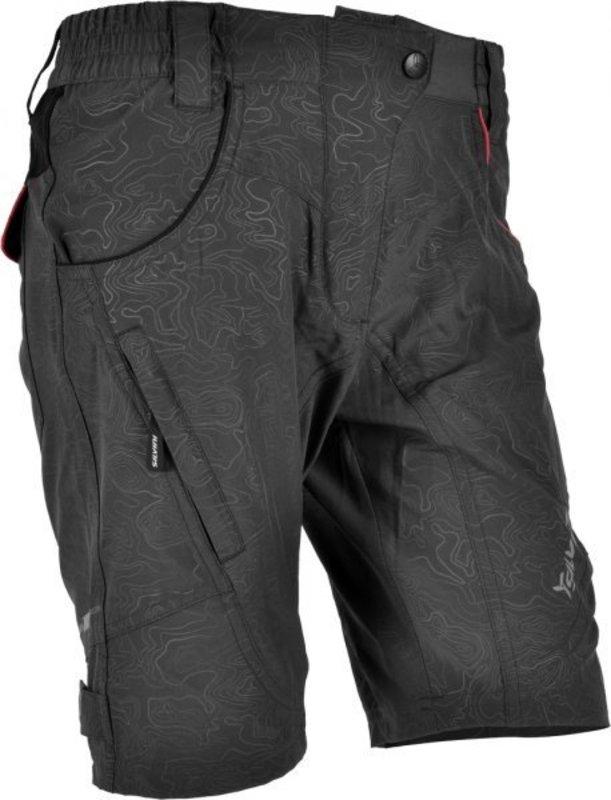 Dámske voľné cyklistické nohavice Silvini Fasca WP476 charcoal-punch