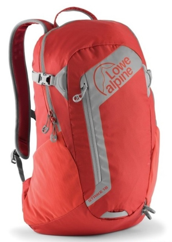 Batoh Lowe alpine Strike 18 SUZ sunset red / zinc