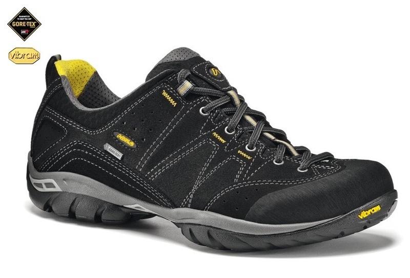 Pánske topánky Asolo Agent GV MM black/black/A388