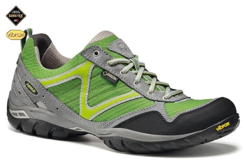 Pánske topánky Asolo Rebel GV MM cloud grey/green/A065