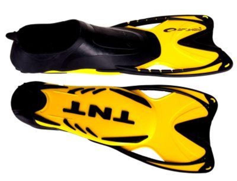 Plutvy Spokey TNT žlté