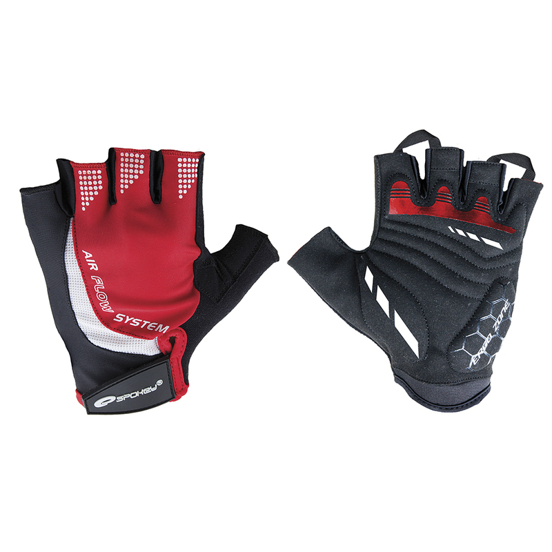 Cyklistické rukavice Spokey AIR FLOW 3