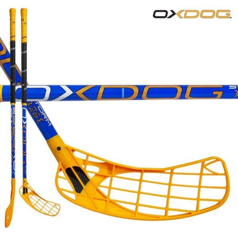 Florbalová palica Oxdog STORM 26 blue 101 ROUND MBC´13