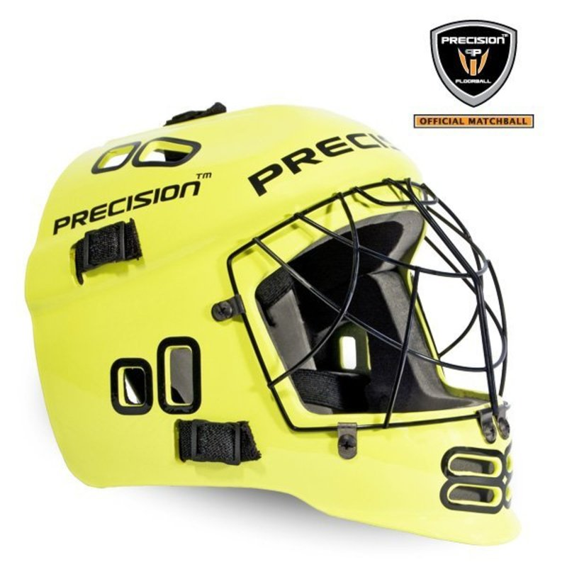 Helma PRECISION GOALIE HELMET neon yellow
