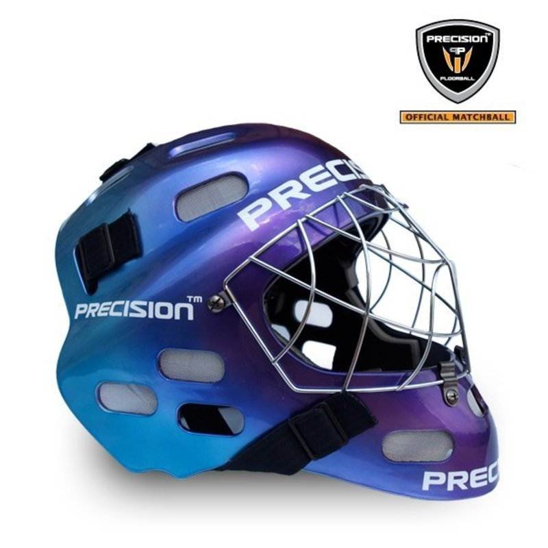 Helma PRECISION GOALIE HELMET tricolor senior